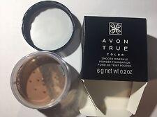 Avon True Color Smooth Minerals Powder Foundation Spice