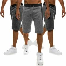 Pantaloni da uomo media lunghezza corto in misto cotone