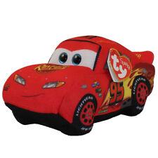 TY Disney / Pixar Cars 3 Beanie Babies Hero McQueen Plush MWMT's w/ Heart Tags