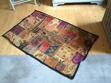 Indian Antique Wall Decor Hanging Hand Embroidered Tapestry