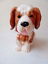 YuYu St. Bernard Dog Puppy Cookie Jar Neiman Marcus 2011 Limited Edition