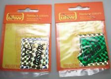 2x Castrol , etc Aufkleber 1970er Jahre UHW Rainbow Sticker OVP