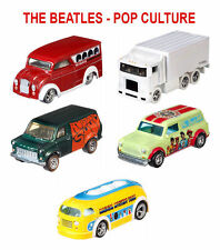 Hot Wheels 2017 Pop Culture The Beatles SEALED H CASE OF 12 - DLB45-956H