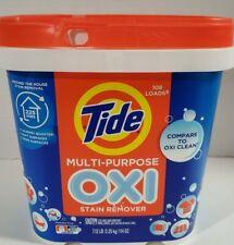 Tide Multi Purpose Oxi Stain Remover Chlorine Free 108 Loads 7.12 lbs - NEW!