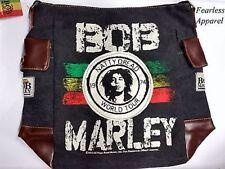 Bob Marley Zion Rootswear Natty Dread Rasta Messenger Shoulder Satchel Bag
