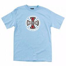 Independent Trucks Truck Co Logo Skateboard Shirt Powder Blue Medium
