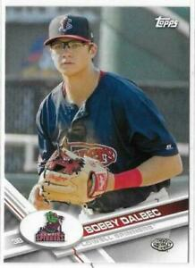 2017 Topps Pro Debut #193 Bobby Dalbec Rookie Boston Red Sox Lowell Spinners