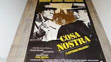lino ventura charles bronson COSA NOSTRA ! affiche cinema 1972