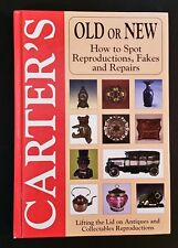Carter's Old Or New - How To Spot Reproductions Fakes & Repairs - hb - Australia
