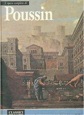 POUSSIN L'OPERA COMPLETA RIZZOLI 1974 CLASSICI DELL'ARTE 72