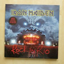 IRON MAIDEN Rock In Rio Triple picture disc LP EMI Records 2002