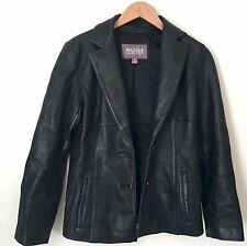 Wilsons Leather Womens Black Leather Jacket Size Small Coat