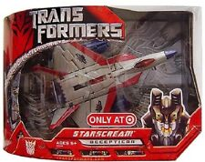 Transformers 1 The Movie 2007 STARSCREAM EXCLUSIVE G1 DECO Voyager Class New