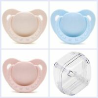 Adult Orthodontic Dummy Pacifier Silicone Teat Nipple Soother Sleeping Care