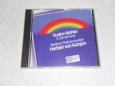 CD- GUSTAV MAHLER  SYMPHONY No.5 IN C-SHARP MINOR NEW / SEALED