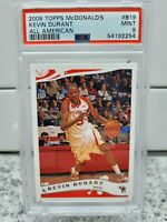 2006 TOPPS McDONALD'S ALL AMERICAN #B19 KEVIN DURANT RC PSA 9 📈🔥 INVEST NETS