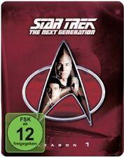 STAR TREK: THE NEXT GENERATION, Season 1 (6 Blu-ray Discs, Steelbook + Pin) NEU