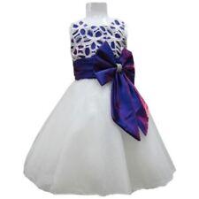 Vêtements habillés en polyester pour fille de 4 à 5 ans