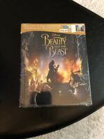 Disney Blu-ray DVD Combo - Beauty and the Beast Digibook (New) 32-Page Storybook