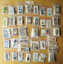 More details for collection of 40 complete sets of cigarette & trade cards