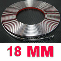 20mm x 7.5 Meter Car Styling Moulding Strip Chrome Trim Adhesive UK SELLER 2cm