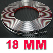 18 mm (1.8 Cm) X 5 M Coche adorno de cromo decoración estilo Moldeo Tira Adhesiva