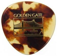 GOLDEN GATE® FLAT ROUNDED TRIANGLE MANDOLIN PICKS HEAVY (3-PACK) *NEW* MP-12