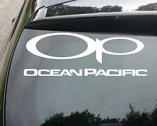 LARGE OCEAN PACIFIC OP SURF Funny Car/Window JDM VW EURO Vinyl Decal Sticker