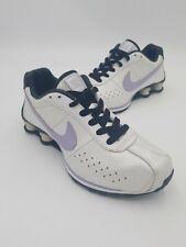 Nike Womens Shox Classic - 309351 102 - White / Black - Mauve - Womens Size: 9