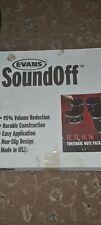 More details for evans so-2346 soundoff standard drum, mute pack  12, 13, 14, 16 - so-2346
