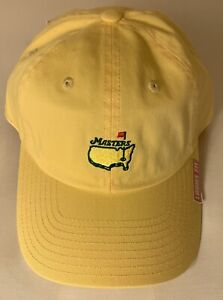 2021 Masters golf hat yellow ladies fit american needle pga new