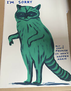 David Shrigley✅I'm sorry but I can't promise that it won't happen again✅Ed of125