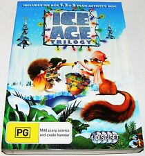 Ice Age Trilogy- Ice Age 1 / Ice  2  Meltdown / Ice Age 3- Dawn Of The Dinosaurs