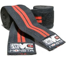 Monsta Clothing Fitness Gym Knee Wraps