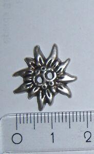 Trachtenknopf Edelweiß 20 mm Union Knopf 42509 2 Stück (1 Knopf = 0,80 €)