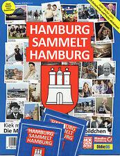 Hamburg sammelt Hamburg  / Leeres Sticker  Album Blau / 2010/2011 / Serie 2