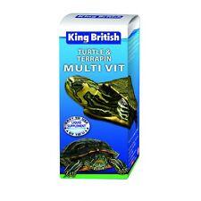 Rey británico Tortuga Y Terrapin vitamina múltiple solución 20 Ml