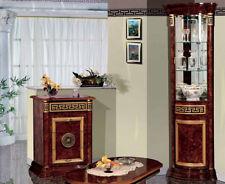 Eckvitrine Wohnzimmerschrank Esszimmer Eckschrank Italienische Hochglanz Möbel