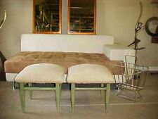 Mid Century Pair Lane Benches Hollywood Regency Bench