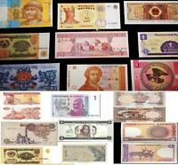 Lot 10pcs Bundle Different Countries Lowest face value Currency World Banknotes