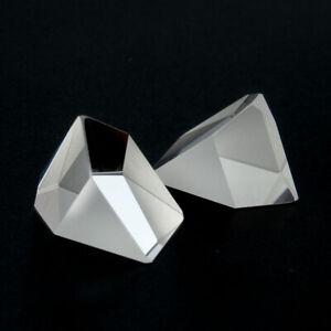 6pcs Optical Glass Prism Defective Irregular prism for DIY Teaching Tool