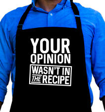 Your Opinion Apron Gift for Husband, Dad, or Grandpa by ApronMen