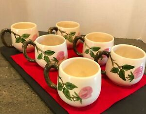 Franciscan Desert Rose Coffee Mugs, 6 Available