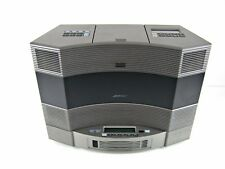 Bose Acoustic Wave Music System II + 5 Multi Disk CD Changer Titanium Silver