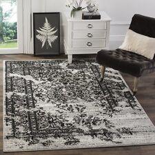 Safavieh Adirondack Silver Rug 4' x 6' Oriental Vintage Living Room Carpet Black