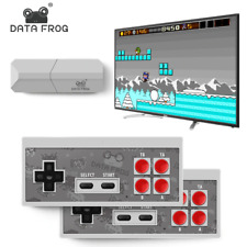 Data Frog Mini 4K Video Game Console Dual Players and Retro Build in REAL 600