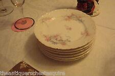 "HAVILAND & CO (Limoges, France) - ca 1876- 1930s 7 bread  plates 6"" diam[4-55]"