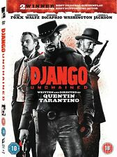 DVD DJANGO UNCHAINED Quentin Tarantino Action Western MOVIE NEW SEALED FILM *