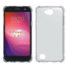 Per potenza 2 LG X xcharge Xpower 3 chiaro ANTI URTO ANTIURTO Gel Skin Case Cover