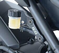 Yamaha MT 09 2016 2017 R&G Rear Footrest Blanking Plates BLP0031BK Black